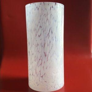 Lindshammar Sweden Glass Vase